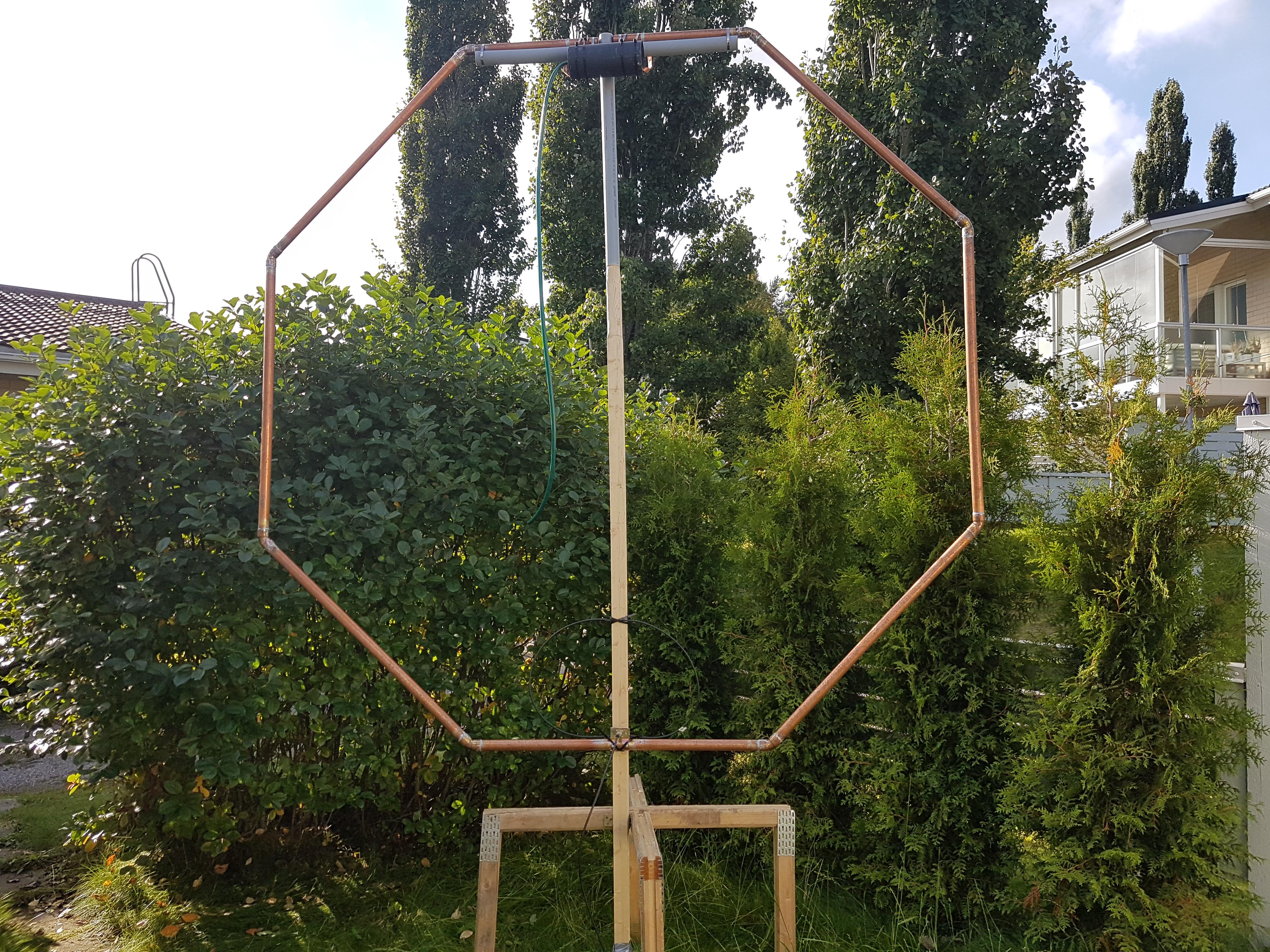 80-Meter Magnetic Loop Antenna